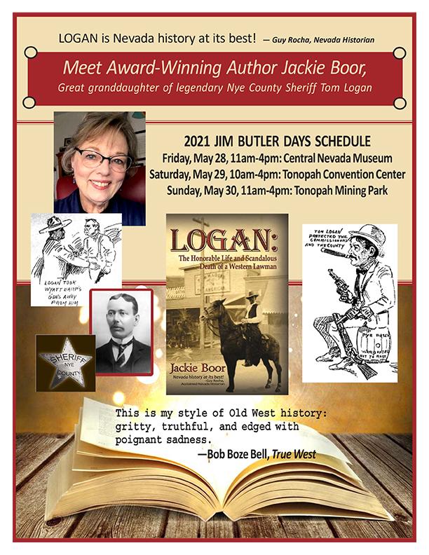 Jackie Boor Sheriff Logan Book Signing